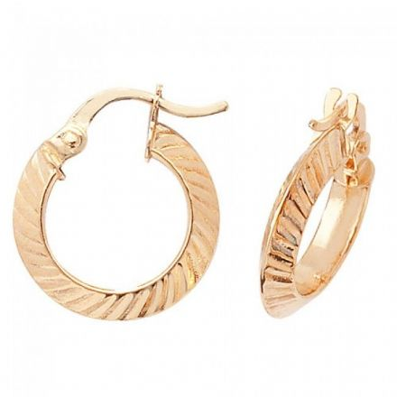 Just Gold Earrings -9Ct Earrings, ER876